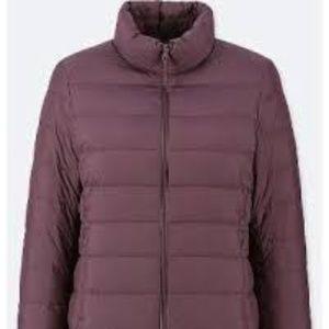 Uniqlo Wine Women's Ultra Light Down Jacket Large